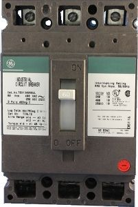 Ted136025wl Industrial General Electric Circuit Breaker Electric Circuit Electrical Breakers General Electric