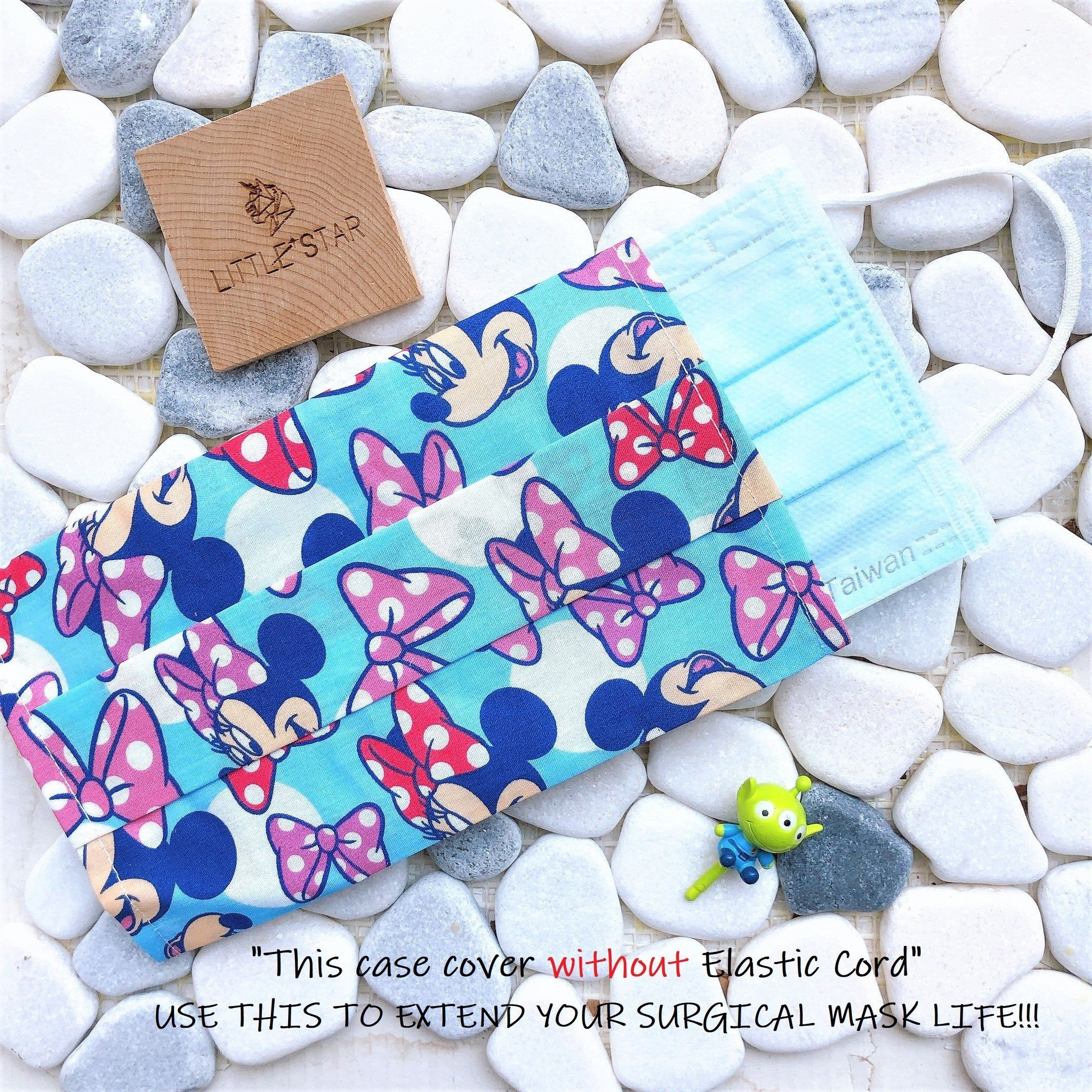 Disney mickey minne cute cotton washable face mask etsy