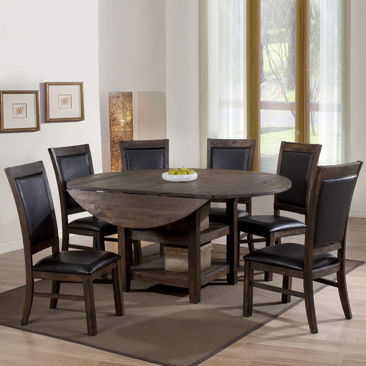 Legends Furniture Zi S8090 Sonoma Convertible Round Table Atg