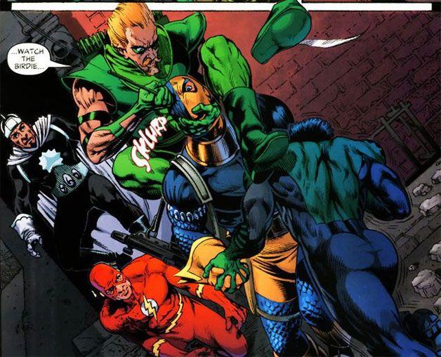 Green Arrow Vs Deathstroke
