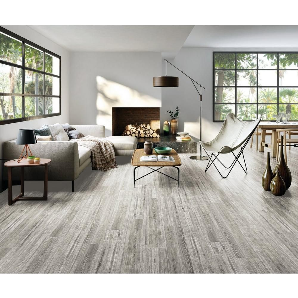 Ronne Gris Ceramic Tile 8in X 24in 100414879 Floor And Decor