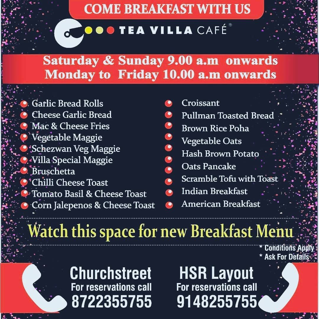 Come Breakfast with usSaturdays amp; Sundays 9.00 a.m onwardsMonday to Friday 10.00 a.m onwards .................#breakfastmeeting