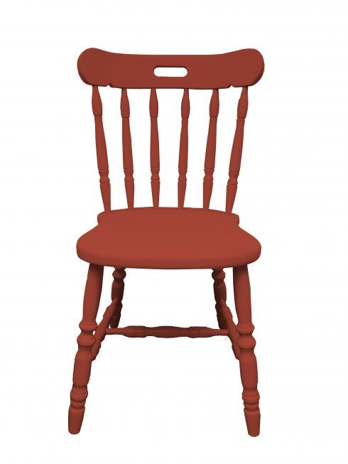 Incarnadine - Painted Wooden Chair in any Farrow and Ball colour