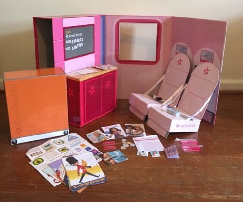 #American girl doll air plane #travel kit first #class flight gate play set,  View more on the LINK: 	http://www.zeppy.io/product/gb/2/262450975915/