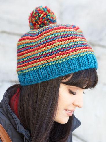 866b7e84e2e Bright Stripes Beanie