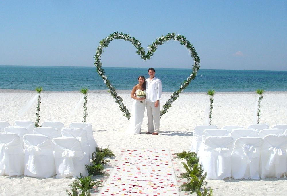 Beach Wedding Arches Lido Beach Florida Beach Wedding