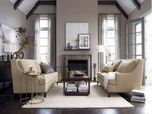 Arredamento salotto ~ Arredare con i tappeti salotto con tappeto beige tappeti