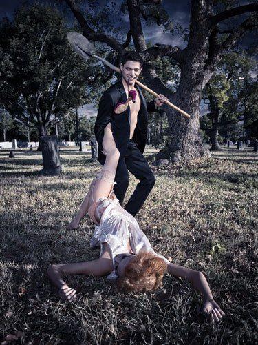 Erotic graveyard flash game