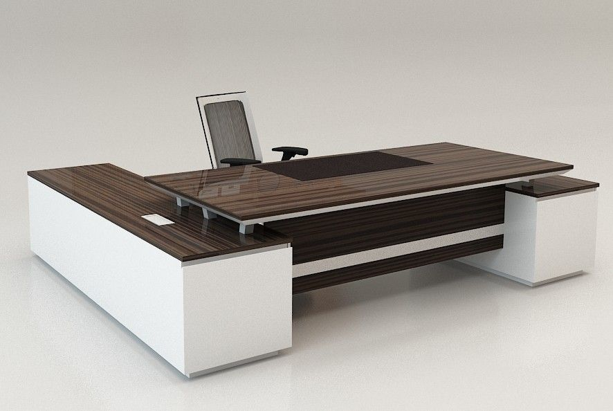 Unique executive desks oficina pinterest desks for Cool home office desk