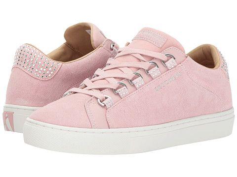skechers side street pink