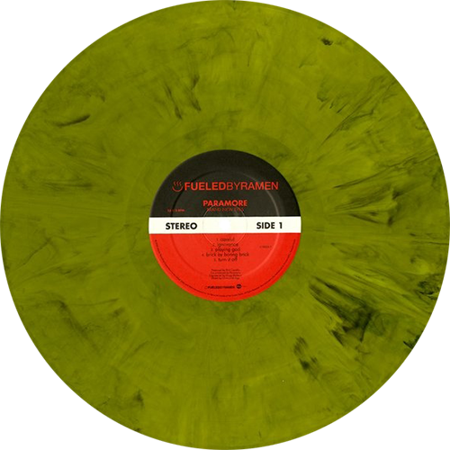 Brand New Eyes Album By Paramore Yellow Opaque W X2f Black Swirl Vinyl Limited To 1800 Copies Collection Of Unusual Rare Vin Paramore Vinyl Records Vinyl
