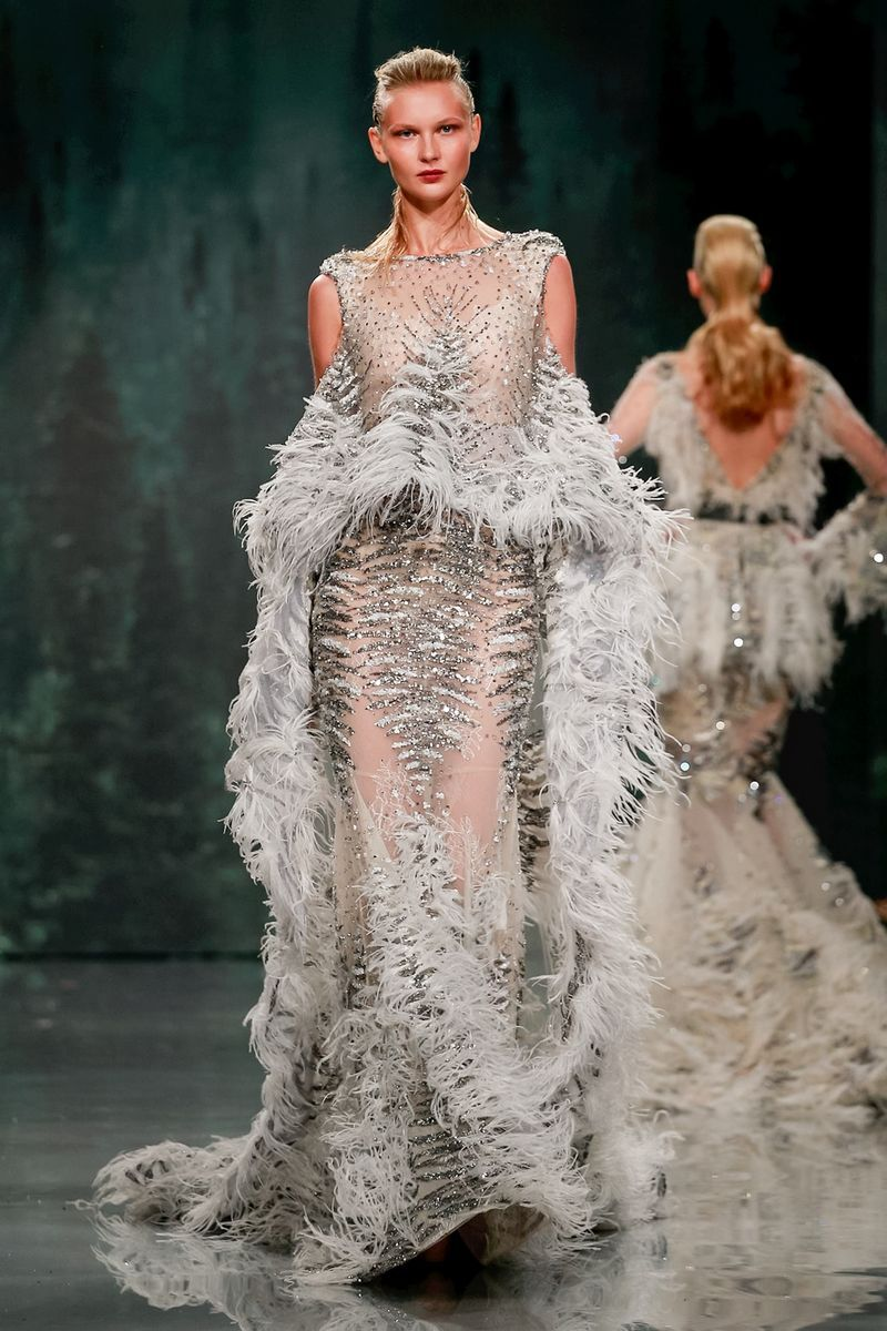 Ziad nakad fall couture fresh off the runway pinterest