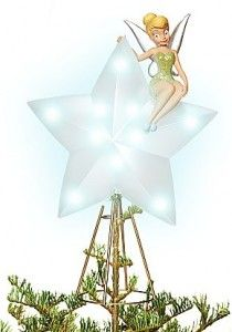 tinkerbell tree topper - Disney Christmas Tree Topper