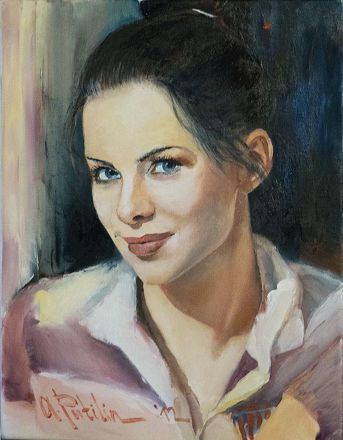 Картинки портреты масло