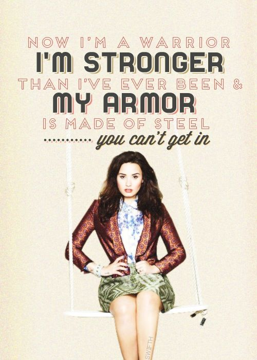Warrior Demi Lovato Demi Lovato Lyrics Warrior Demi Lovato Lyrics Demi Lovato Quotes