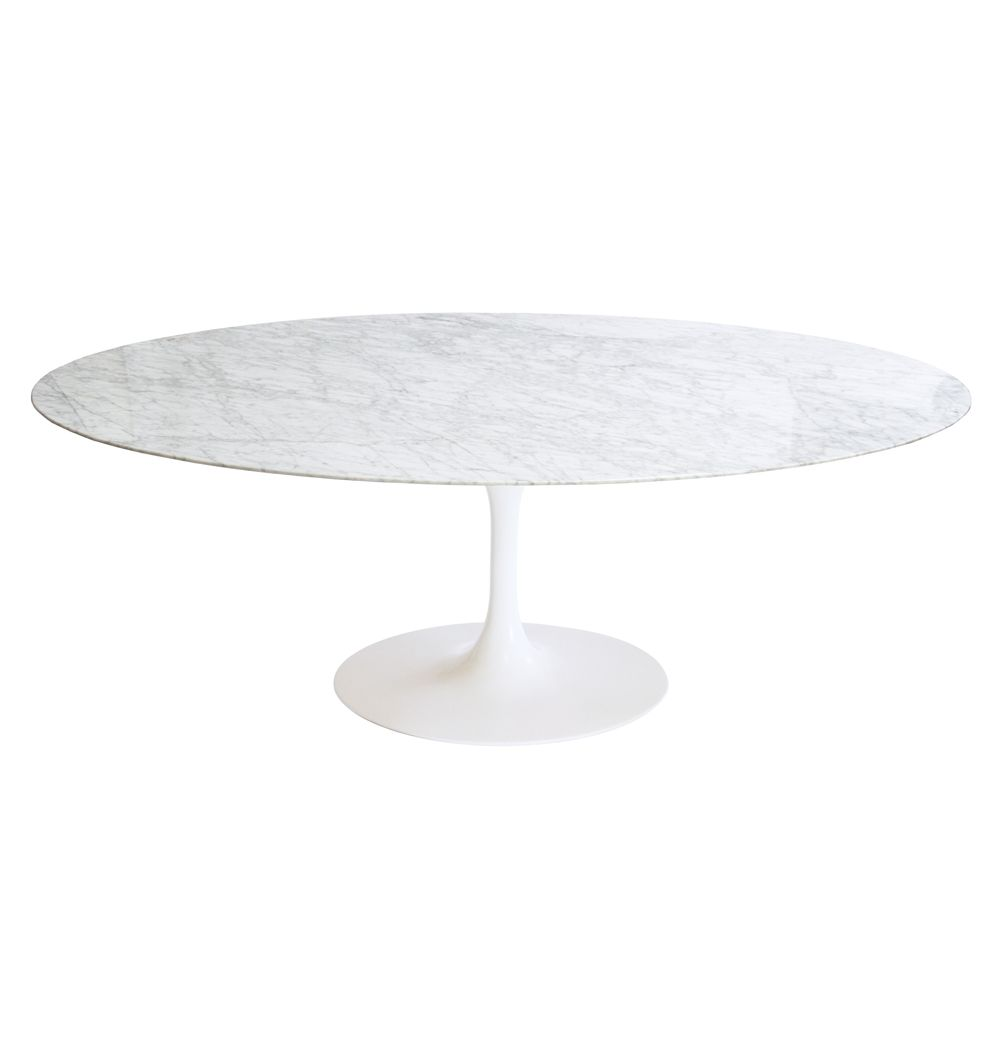 replica eero saarinen tulip dining table oval marble by eero