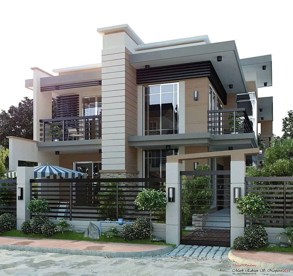Architectural Design Of Residential Building Simply Beautiful Modern Contemporary Residential House Projects