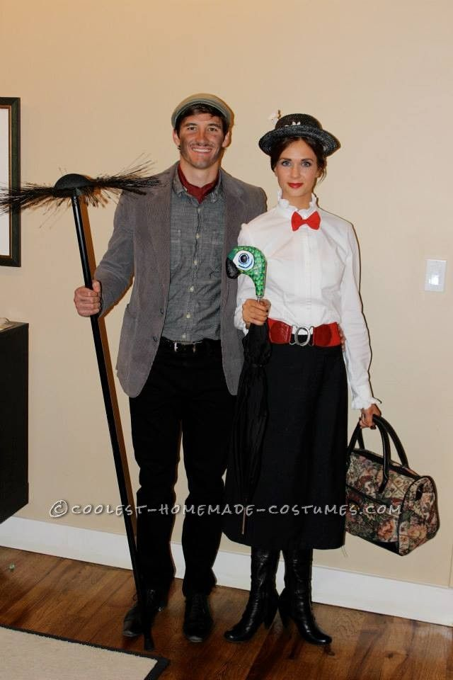 cool mary poppins and bert couple costume diy couples