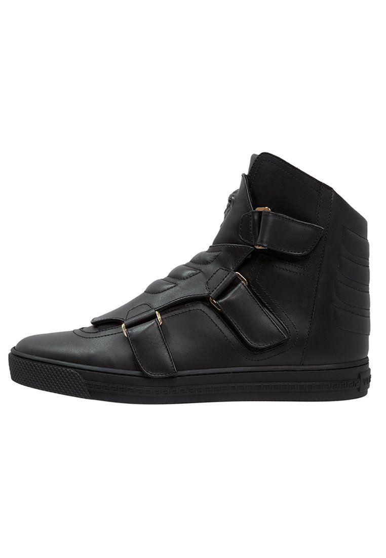 Versace Tenisowki I Trampki Wysokie Nero Sneakers Versace Fisherman Sandal