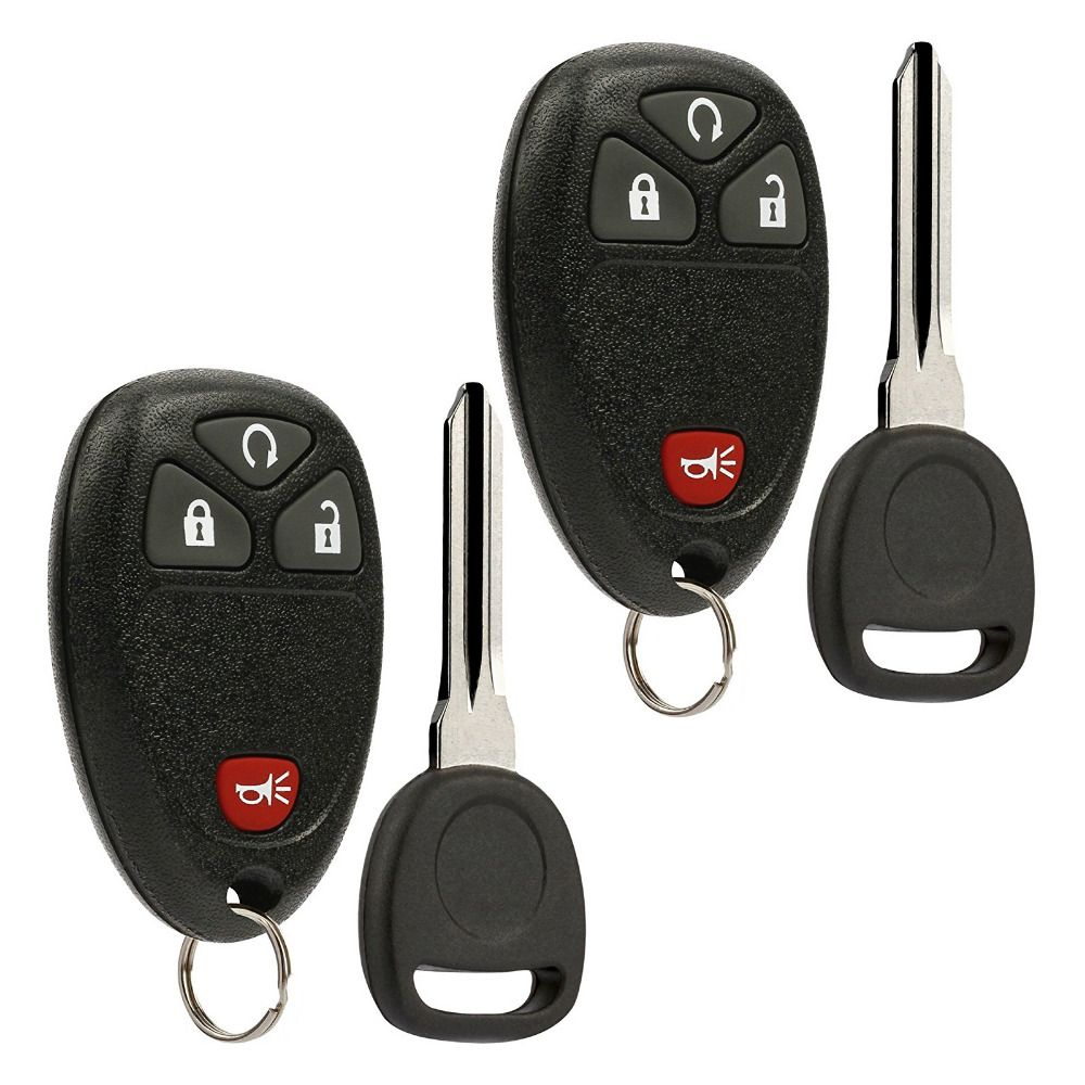 Black Portable Keyless Entry Smart Remote Key Fob Clicker