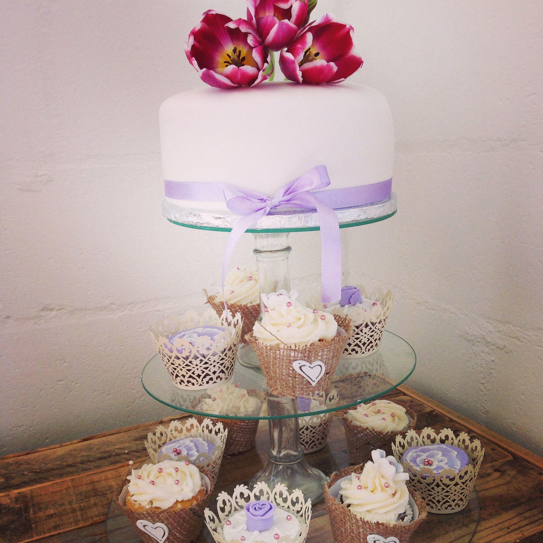 Toptier with wedding cupcakes