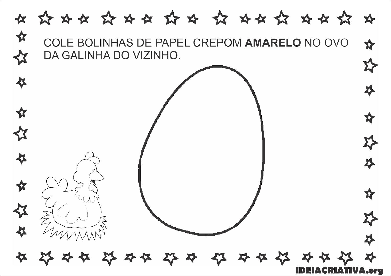 A Galinha Dos Ovo De Ouro Para Colorir sequência didática parlenda a galinha do vizinho educação