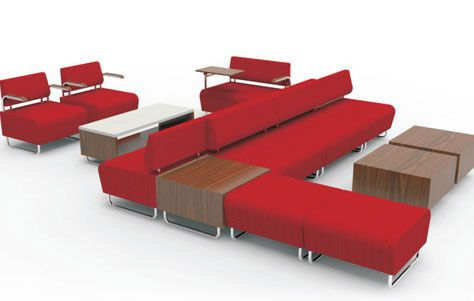 More Out Of Modular: Hub Seating Collection By KI