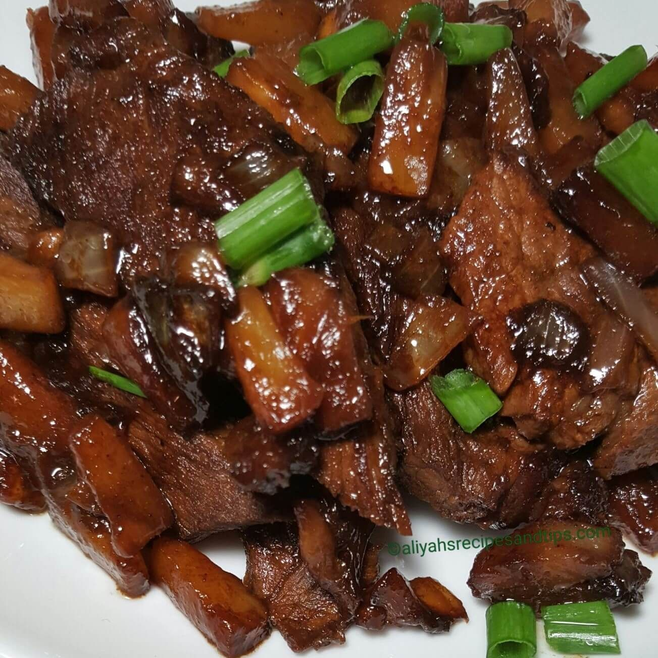 Hawaiian Beef Teriyaki
