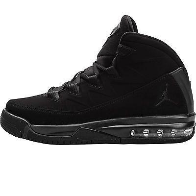 Nike Jordan Air Deluxe Gs Big Kids 807718-010 Black Basketball Shoes Youth  Sz 4 218db129a