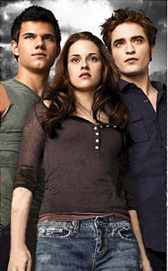 Taylor Lautner Kristen Stewart And Robert Pattinson As Jacob