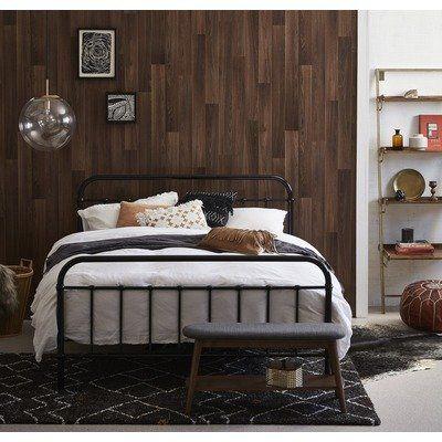 Black Bailey Metal Bed Frame in 2018 Master Bedroom Pinterest