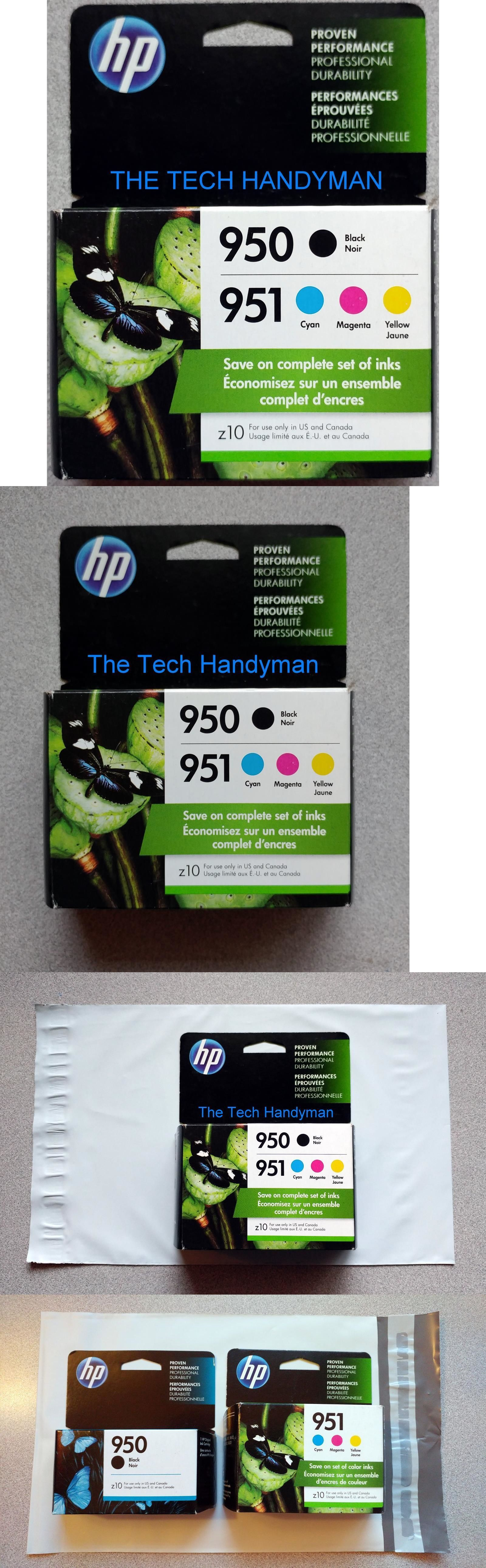 HP 950XL BLACK /& 951 COLOR INK OFFICEJET PRO 8600 GENUINE NEW OEM RETAIL BOX