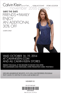 photo about Calvin Klein Printable Coupon called Calvin Klein Discount codes totally free printable coupon codes november 2016