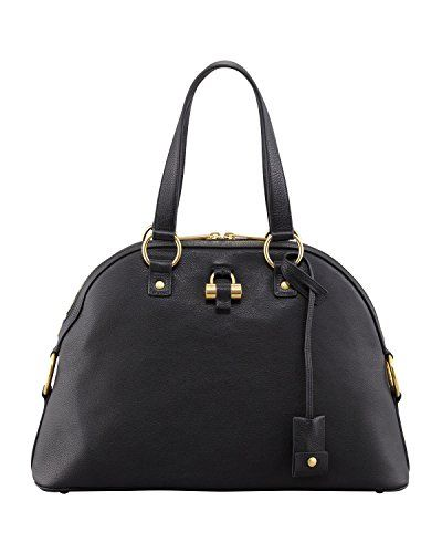 a7430974eb3d Yves Saint Laurent YSL Muse Medium Black Leather Handbag 368224 -- You can  find out more details at the link of the image.Note It is affiliate link to  ...