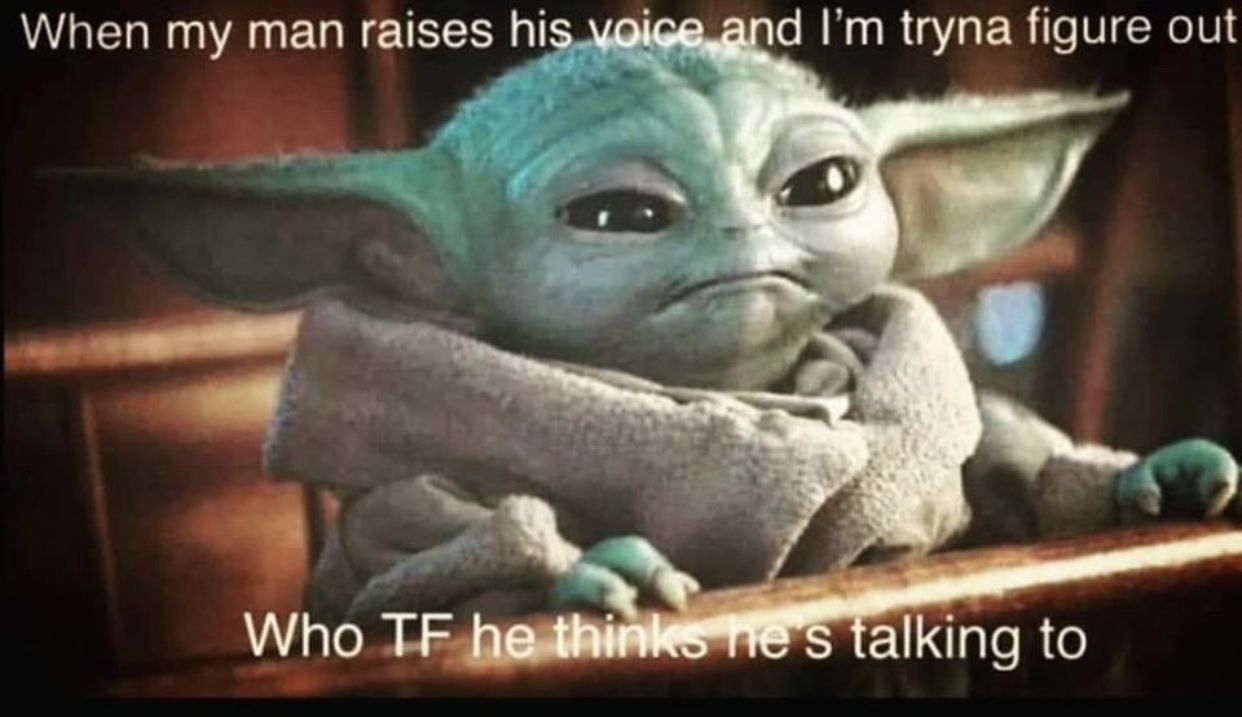Image By Navi Sangha On Laugh Out Loud In 2020 Yoda Funny Yoda