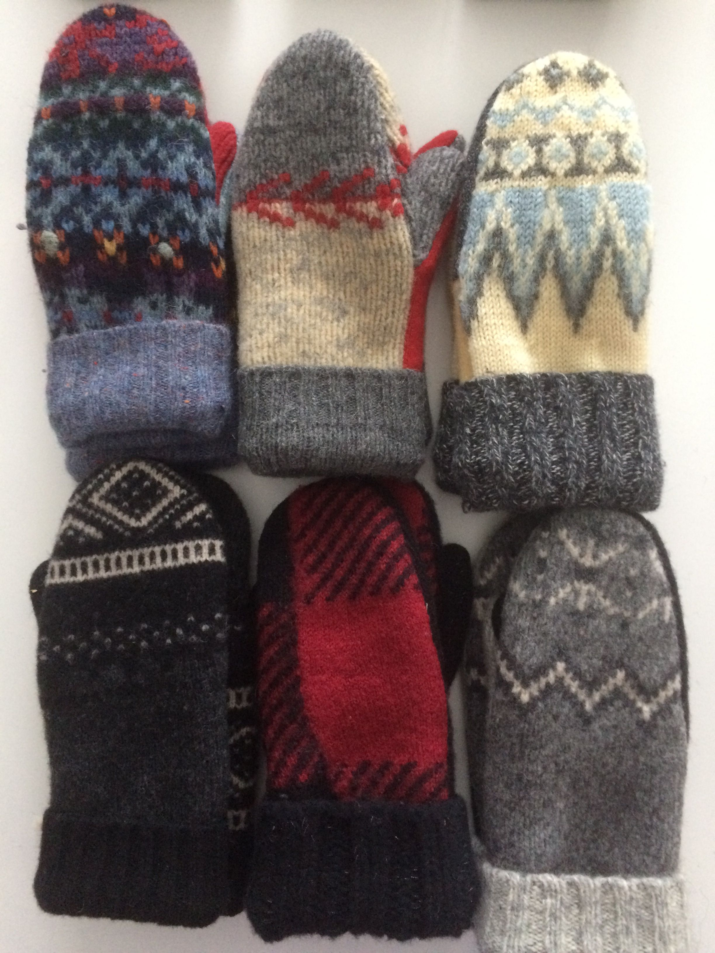 Sweater Mittens Mostly Wool Available 1 17 17