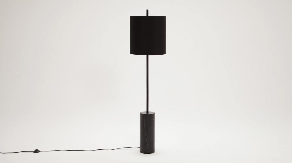 Drum Floor Lamp Floor lamp, Modern floor lamps, Black
