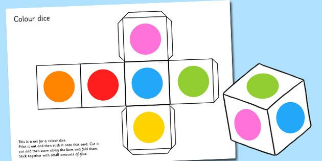 printable dice template with dots - Google Search Ideas for School