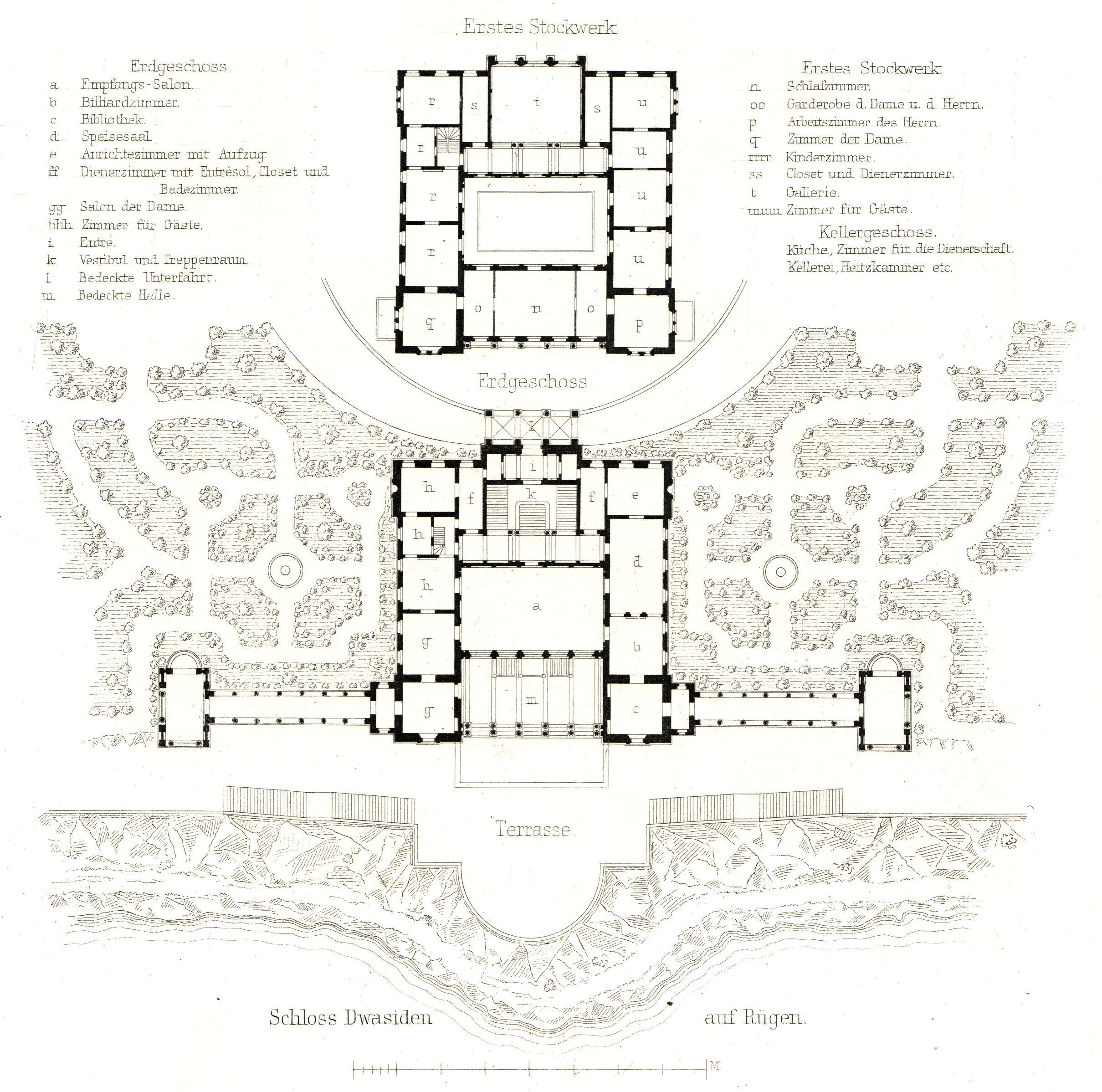 Schloss Dwasieden Grundriss As Jpg 2419 2397 Castle Floor Plan Architectural Floor Plans Castle Plans