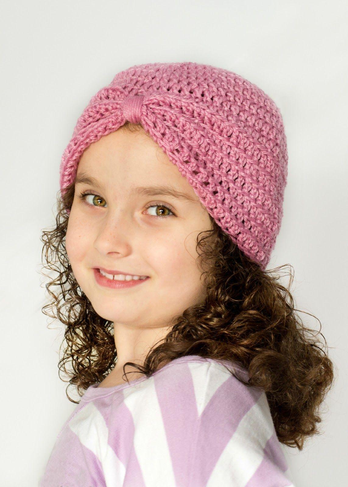 Basic Turban Crochet Pattern | Pinterest | Gehäkelte mützen, Mütze ...
