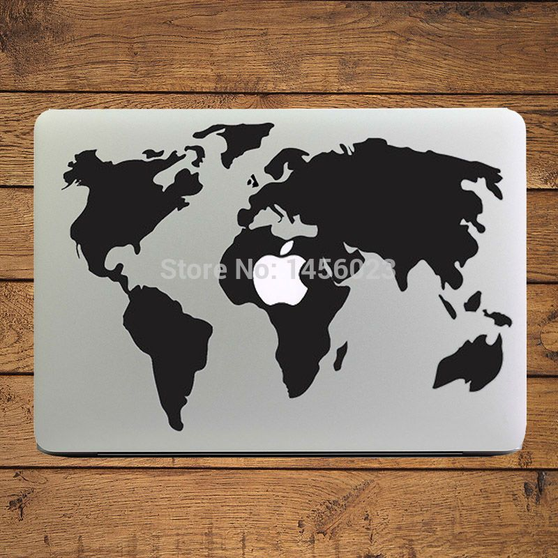 Popular cool mac stickers buy cheap cool mac stickers lots from cheap stickers for macbook buy quality laptop sticker directly from china decal laptop stickers suppliers world map creative decal laptop sticker for gumiabroncs Image collections