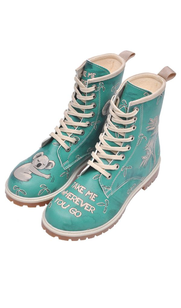 f9515abbdda3c Bottines KOALA vert d eau   shoes   Pinterest   Chaussure, Bottines ...