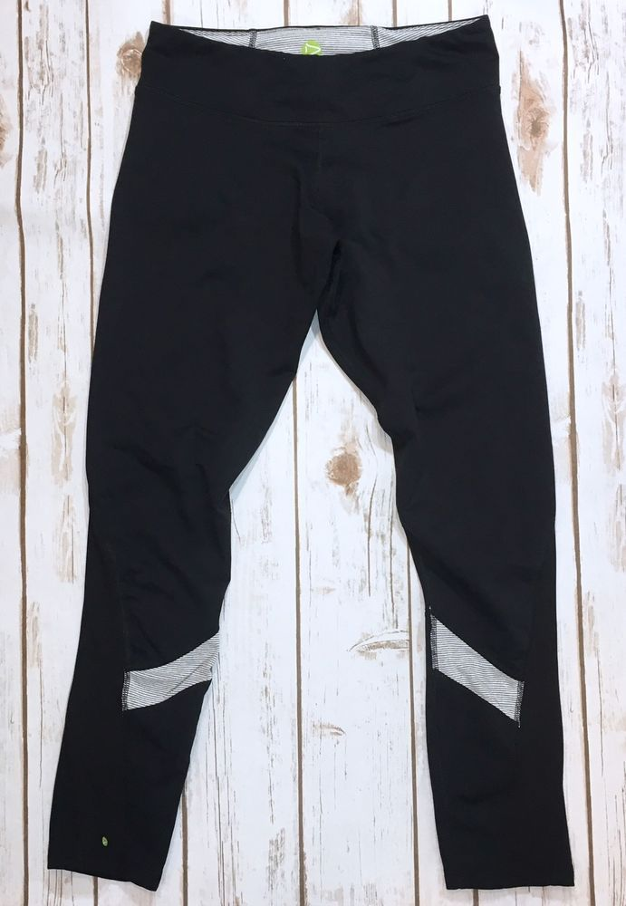 c9da66505a1 Dakini Canyon Running Tight Womens Leggings Black Size Medium Athletic Pants