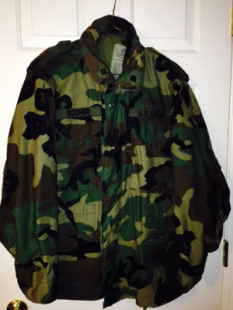 fac71b2c374 Men's Jacket, Field Jacket, Vest, Military Jacket, Military Camouflage,  Cold Weather