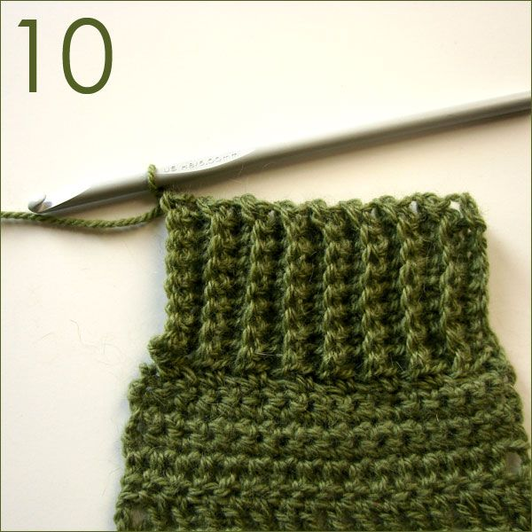 Single Crochet Ribbing Instructions Crochet Tips Tutorials