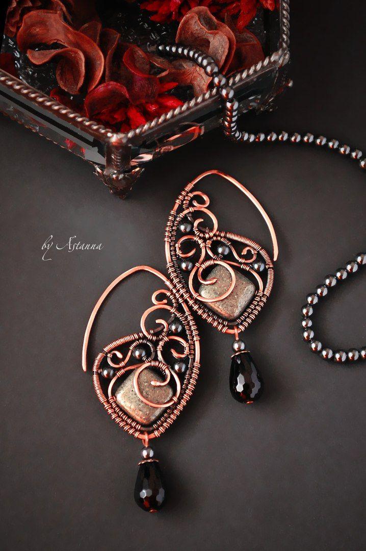 Astanna _artjewelry ○ Авторские украшения | Wire jewelry ...