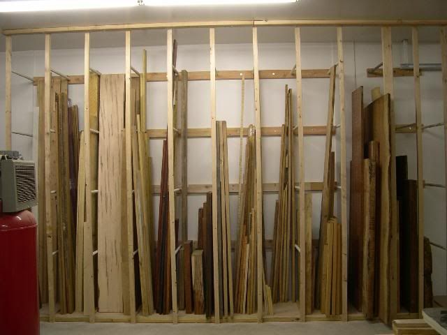 Lumber storage rack vertical lumber storage ww lumber for Vertical lumber storage rack