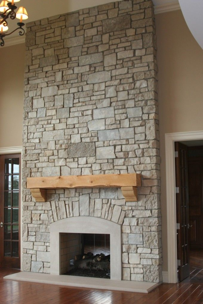 French Door And Door Molding With Stone Fireplace Mantels Also