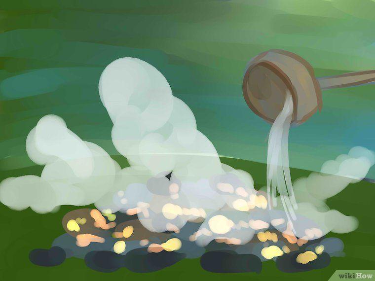 Make a Sweat Bath in the Wilderness | Diy tent, Wilderness ...