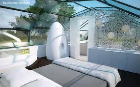 Resultado de imagen para arquitectura futurista dormitorio